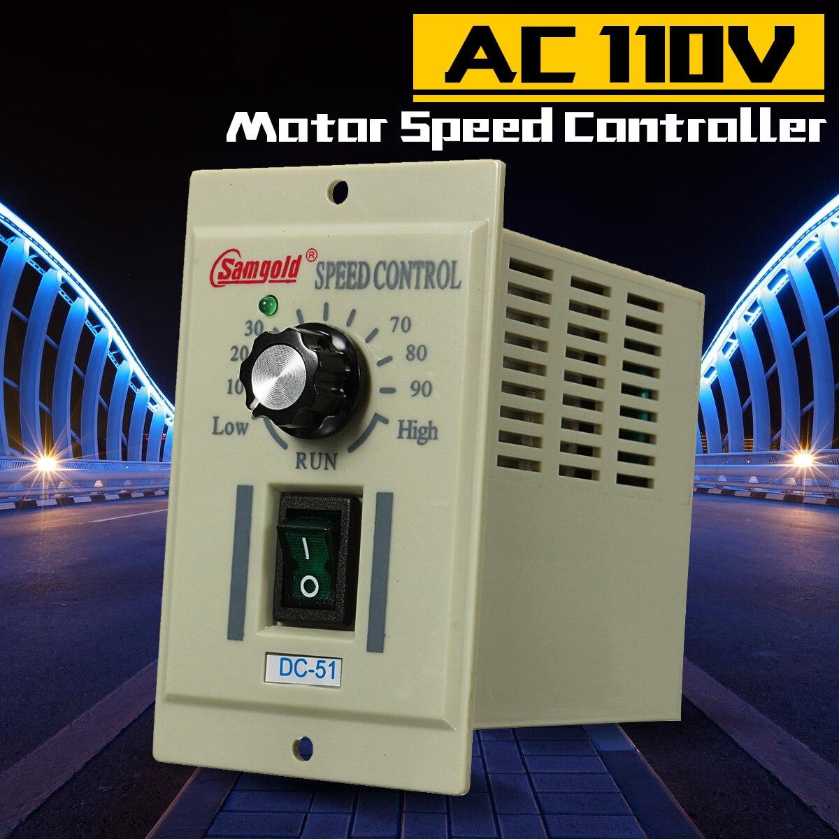 DC-51 1//3 Phase AC 110V Motor Speed Controller Variable Adjust For DC 90V 400W