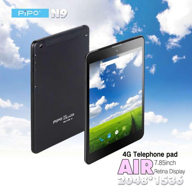 PIPO N9 Tablet PC 4G 7.85'' Android 5.1 MTK8752 Octa Core 1.7GHz 3GB 32GB 5.0MP Rear Camera Phone Call Phablet(China)