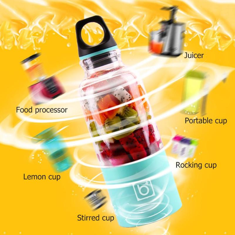 Blender-Maker Juicer Shaker Lemon Fruit-Juice-Cup Citrus Orange Rechargeable-Squeezer title=
