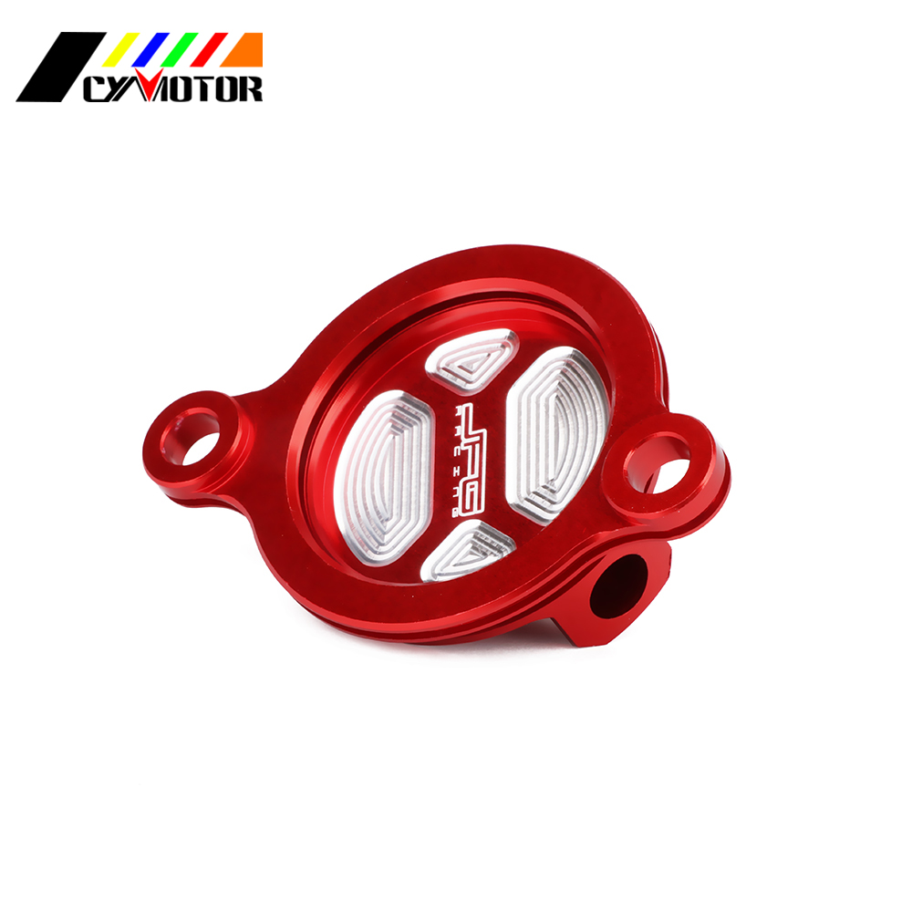 OIL-FILTER-COVER-SET CRF450RX Motrocycle CNC HONDA for Cleaner Aluminum 18 17 title=