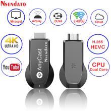 Anycast M100 2.4 그램/5 그램 4 천개 Miracast Any Cast 무선 DLNA AirPlay HDMI TV Stick Wifi 디스플레이 동글 수신기 대 한 IOS Android PC(China)