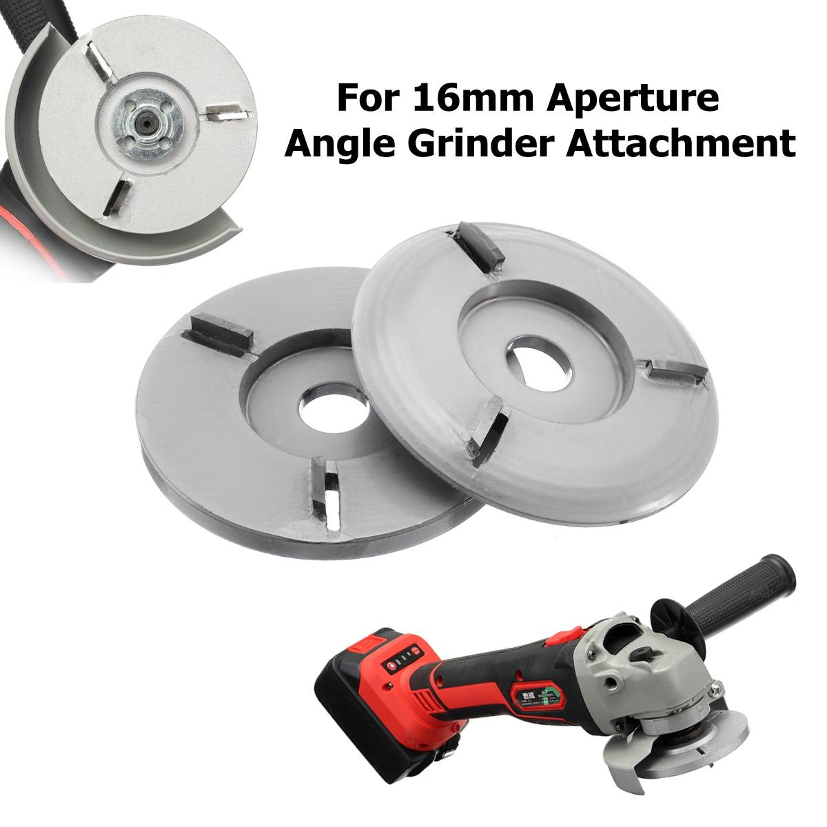 Grinder Chain Saw Disc Milling Cutter Steel Silver 4-inch Engraving Equipment