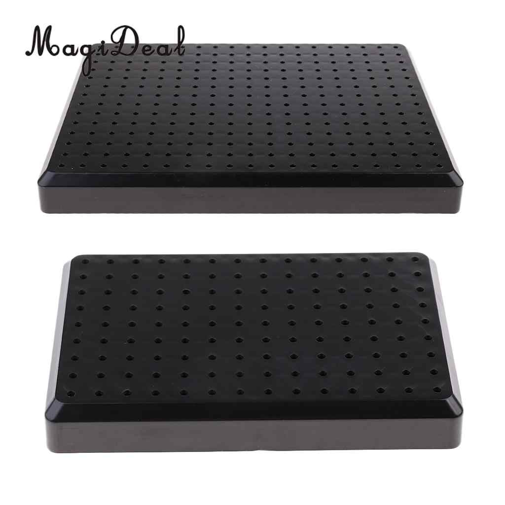 Black Painting Stand Holder Base Model Hobby Parts Spraying Modeling Tools L