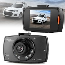 "2.7 ""HD 1080 p Traço Cam Night Vision Wide Angle Carro DVR Câmera Do Carro G Sensor De LCD G30 170 graus Dashcam G-Sensor de Vídeo Registradores(China)"