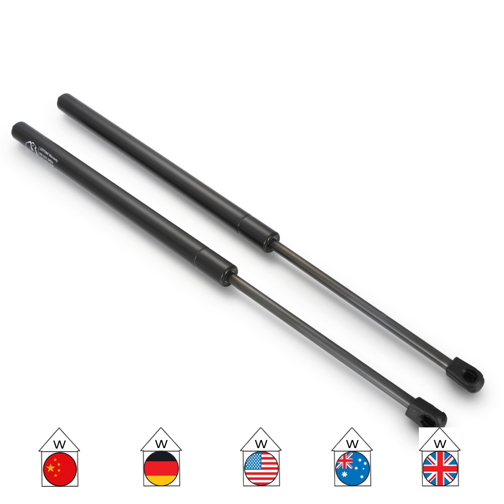 Tailgate Gas Struts Boot Supports For Jeep Cherokee XJ 1984-2001 545mm 690N
