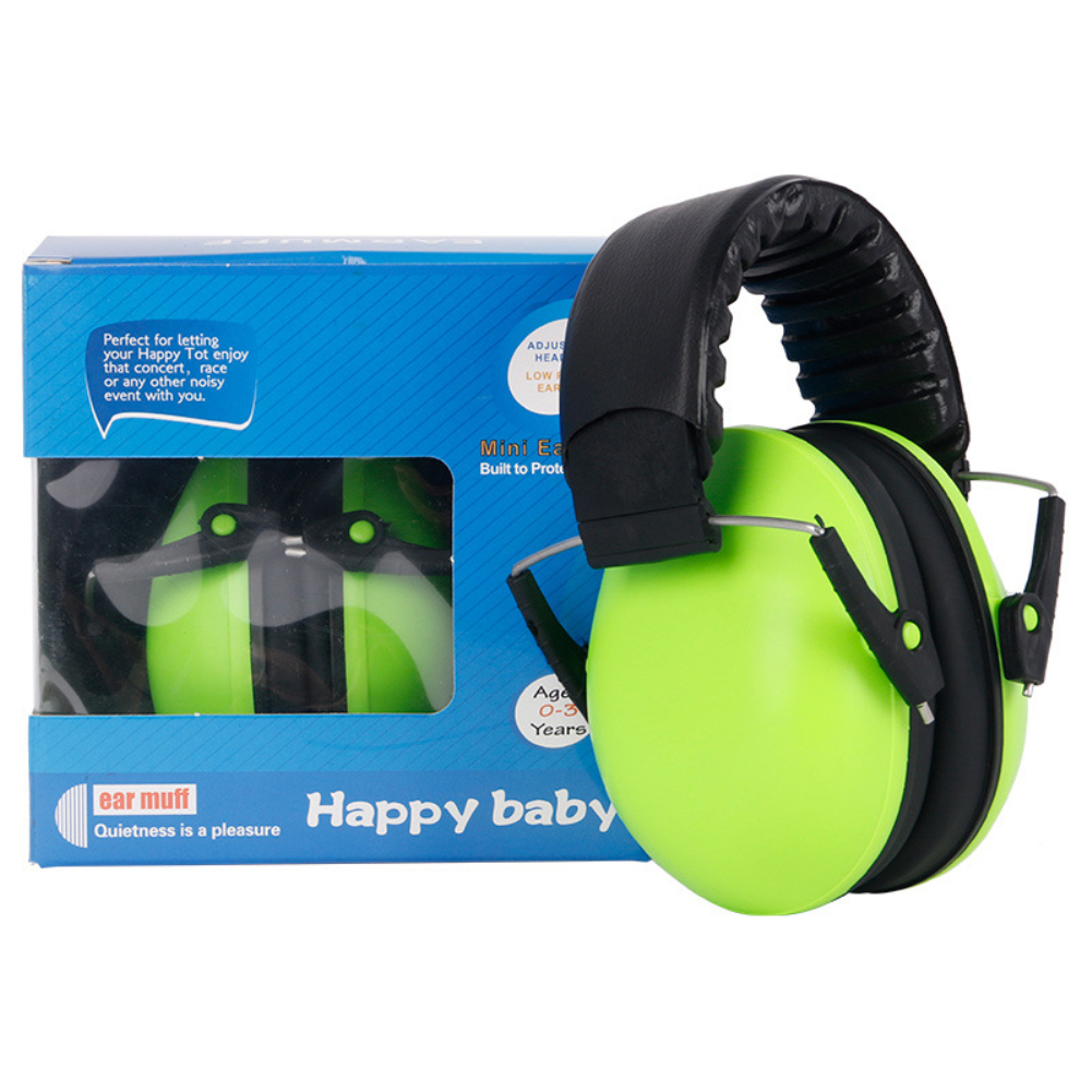 Ear Muff Defenders Kids Toddlers Children Babies Foldable Protection from Noise