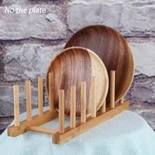 Cocina placa taza Rack tapa de la olla titular de plástico plato de secado  Rack de almacenamiento soporte vegetal de la fruta de. 66fce8397a61
