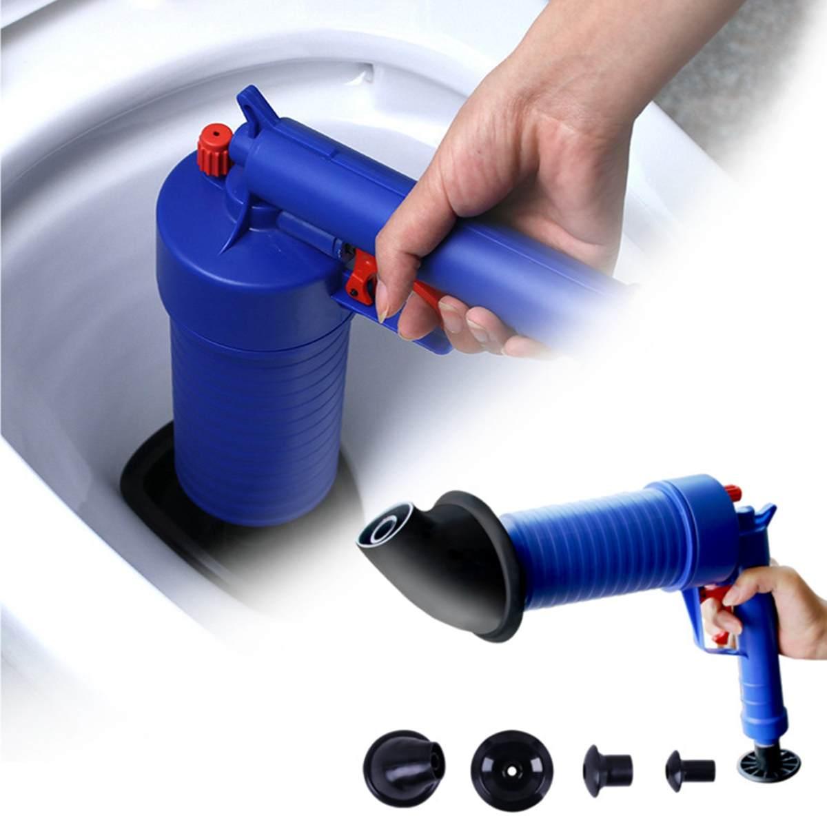 Sink Plunger Drain Unblocker Air Pump Drains Shower Pipe Unblock Clog Remover II
