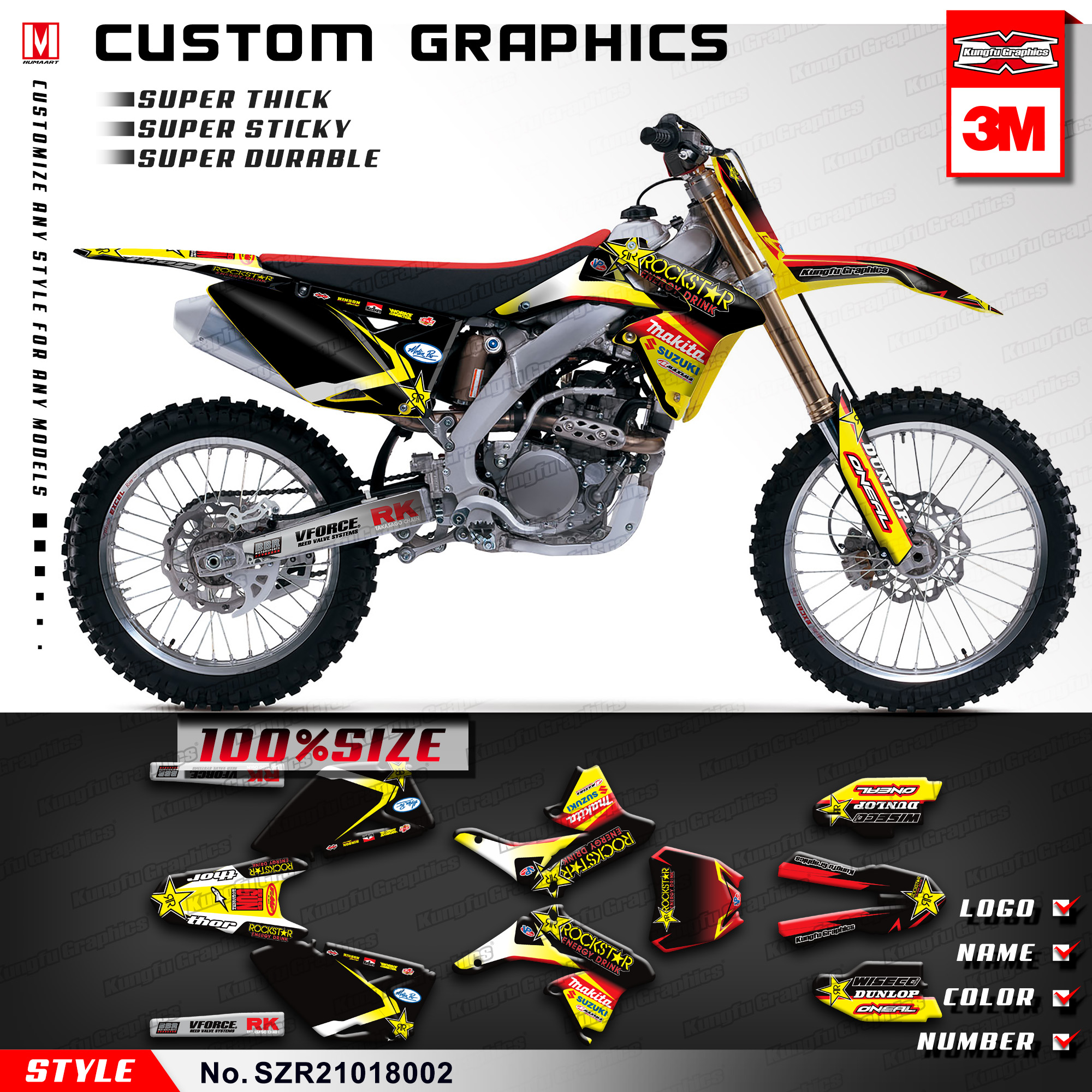 Top End Kit~2008 Suzuki RMZ250