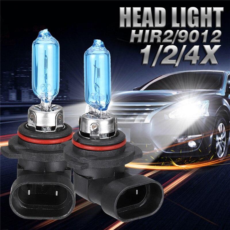 4X 12V 100W 9006 Super White LED Halogen Car Driving Headlight Fog Light Bulb US