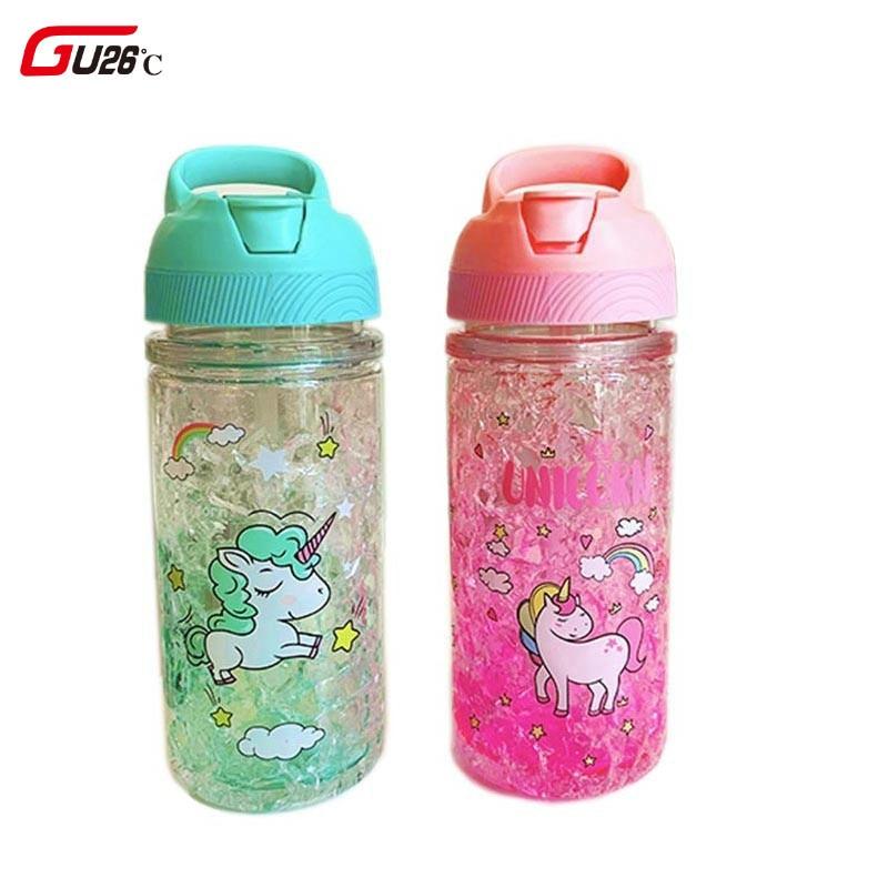 Metal Flamingo agua caliente fría Drinking Bottle Aislado Escuela Gimnasio Oficina Regalo