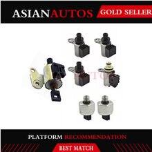 JF011E RE0F10A REOF10A CVT Transmission Valve Solenoids 4+ 2 Switches + 1 Stepper Motor for Dodge caliber Nissan Altima &Sentra(China)