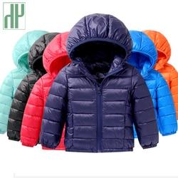 лет свет детские парки зимняя одежда пуховик для девочки мальчиков детская пуховая куртка пуховое пальто Зимняя теплая детская о