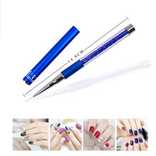 3pcs Nail Art Brush Pen Nail Polish Liner Detailer Striper Dotting Painting Drawing Tool(China)