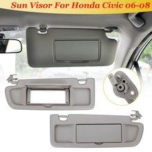 For Honda for Civic for Coupe Sedan 2006 2007 2008 1 Pcs Car LHD Sunvisor  Sunshade 96dd5968d29