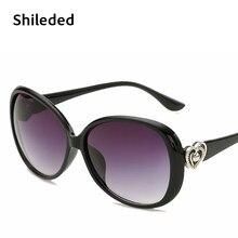 Óculos de Sol da moda Para As Mulheres Sungalsses Shileded Vogue Designer  de Senhoras de Luxo óculos de Sol Para A Menina Alta Q.. 5e3b4eeea2