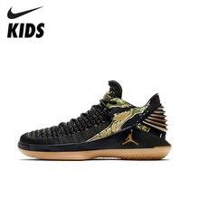 95217050f1780a NIKE AIR JORDAN XXXII LOW BG AJ32 Boy And Girl Actual Combat Basketball  Shoes Running Shoes  AA1257-021
