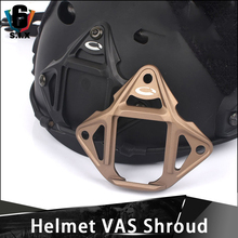 Helmet Shroud Nvg-Mount-Adapter Military Tactical Aluminum VAS Airsoft Three-Hole CQC