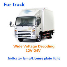 2x T10 194 168 W5W COB LED CANBUS Glass Licenses Plate Light Bulb 12V-24V New(China)