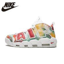 sale retailer db45e c16cb NIKE Air Meer Uptempo 96 Originele Heren En Dames Basketball Schoenen ONS  Grootte Ondersteuning Sport Sneakers