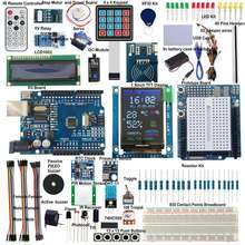 Для UNO R3 Starter Kit модуль RTC дюймов 1,8 дюймов SPI TFT LCD1602 RFID BMP180 PIR сенсор для Arduino(China)