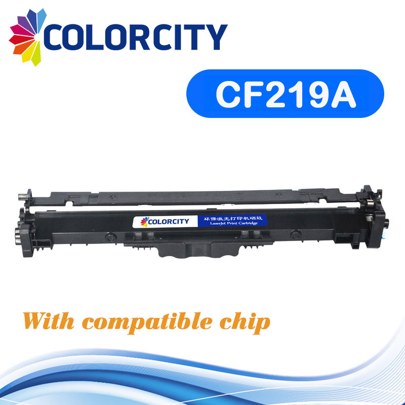 compatible Drum Unit with chip CF219A 19A for HP LaserJet Pro M104a M104w M132a M132fn M132fp M132fw M132nw M132snw M102 M130