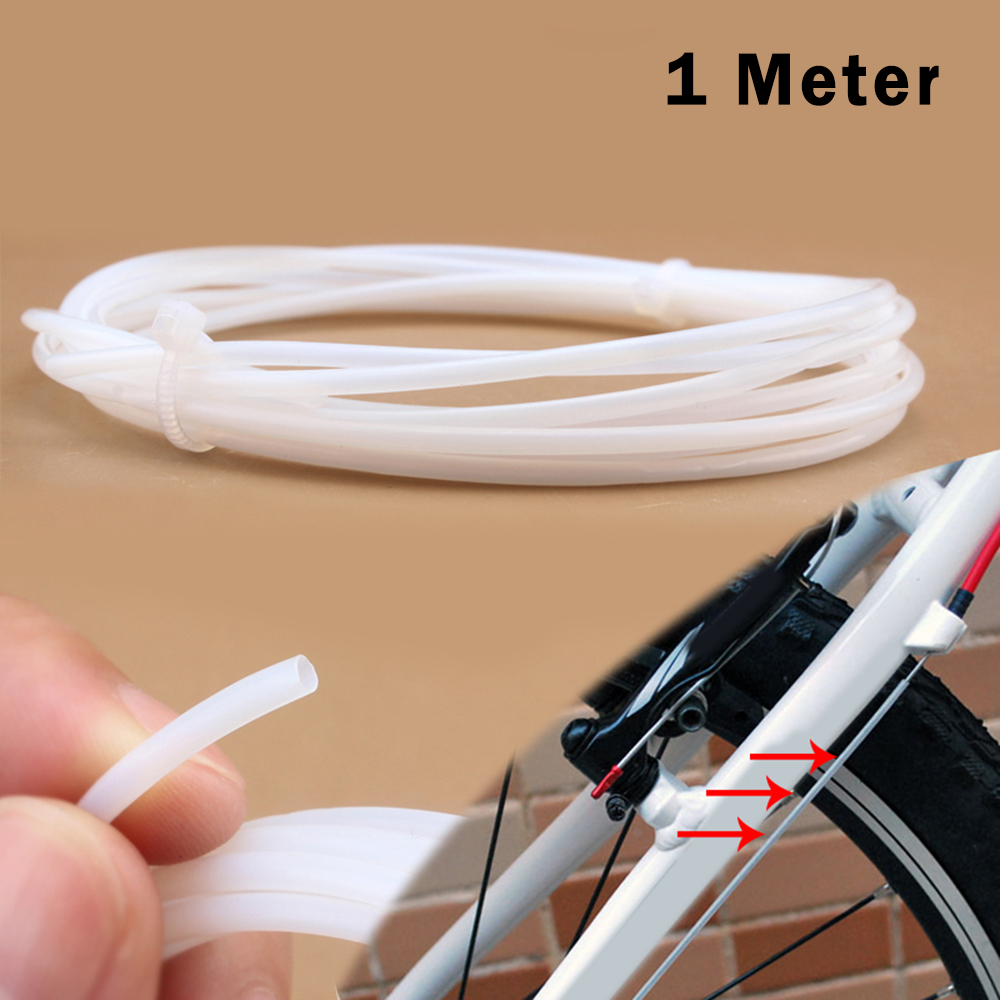 2Pcs Road Bike Gear Bicycle Brake Line Shifter Core Inner Cable Wire 210cm USA