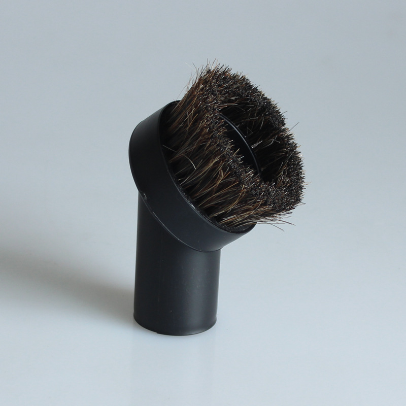 32mm Mixed Horse Hair Round Cleaning Brush Head Vacuum Cleaner Accessories Tool(China)