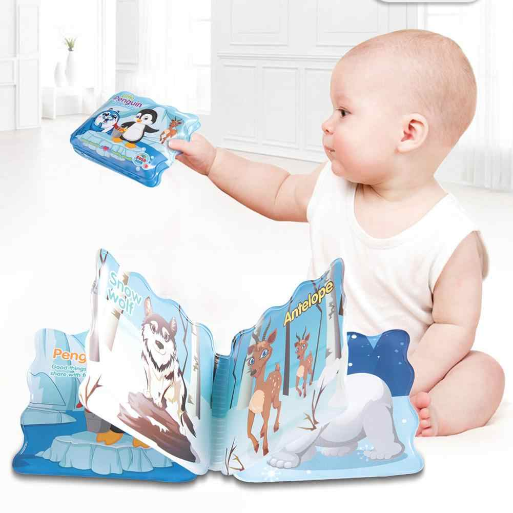 Soft Baby Bath Book Fun Educational Toy Water Toy Baby Shower Gift 0-3 Years Old