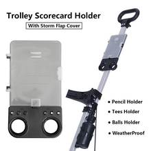 Board-Holder Trolley Cart Scorecard Golf-Ball-Card Golf-Training-Aids Plastic Multifunctions