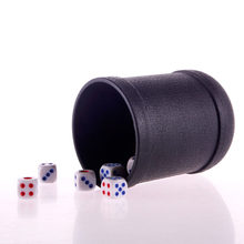 2019 KTV Pub Casino Party Game Speelgoed Plastic Schudden Cup Doos W 5 Stks Dices(China)