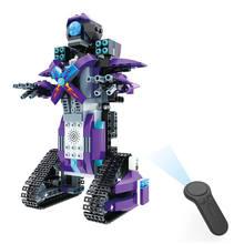 Mofun M3 2.4G 4CH DIY Bulit Blok Bangunan Bata Remote Control Smart Robot  Mainan Anak Mainan Pendidikan Hadiah Ulang Tahun hadia. 6f66b95f7d