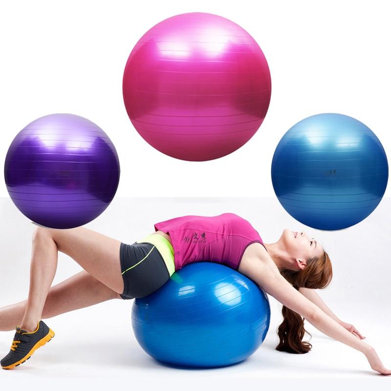85cm Yoga Ball Pilates Fitness Sports Gym Exercise Balance Massage Training Slim