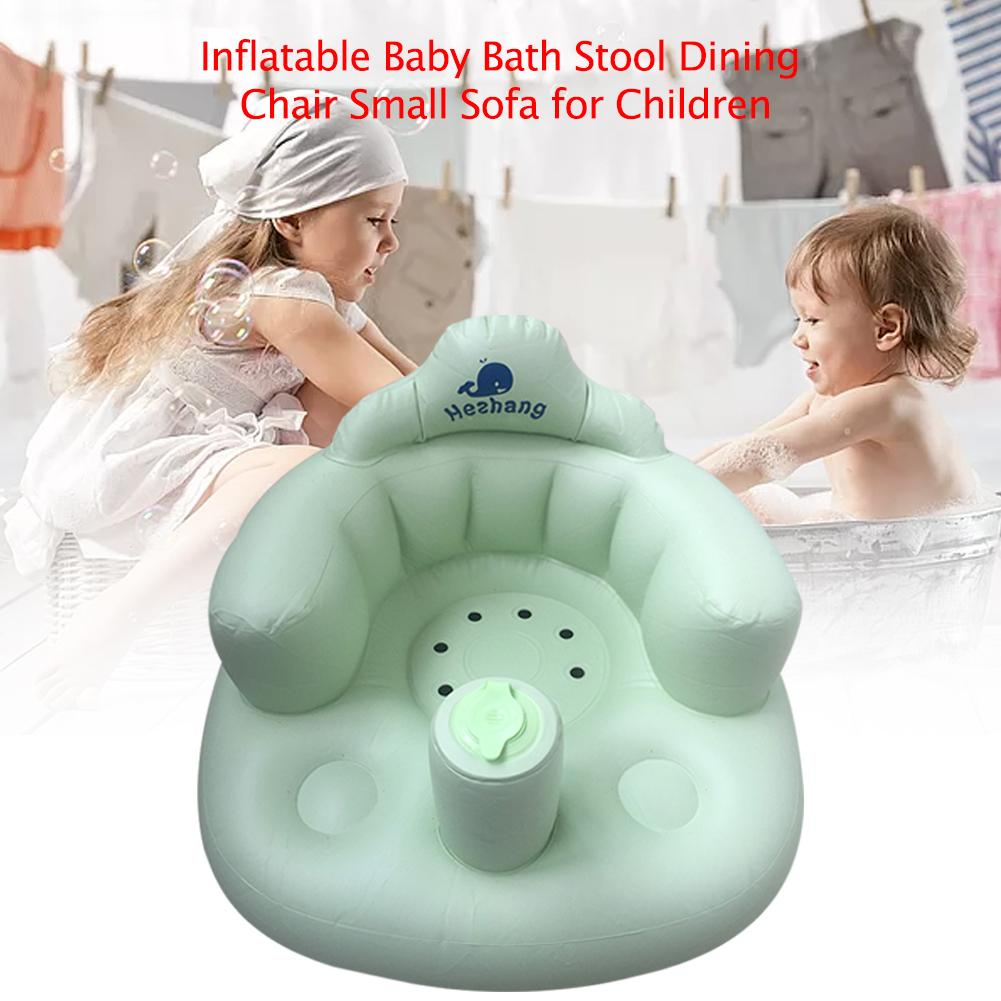 VC inflatable baby bath stool baby bath stool baby learning chair stool children small sofa