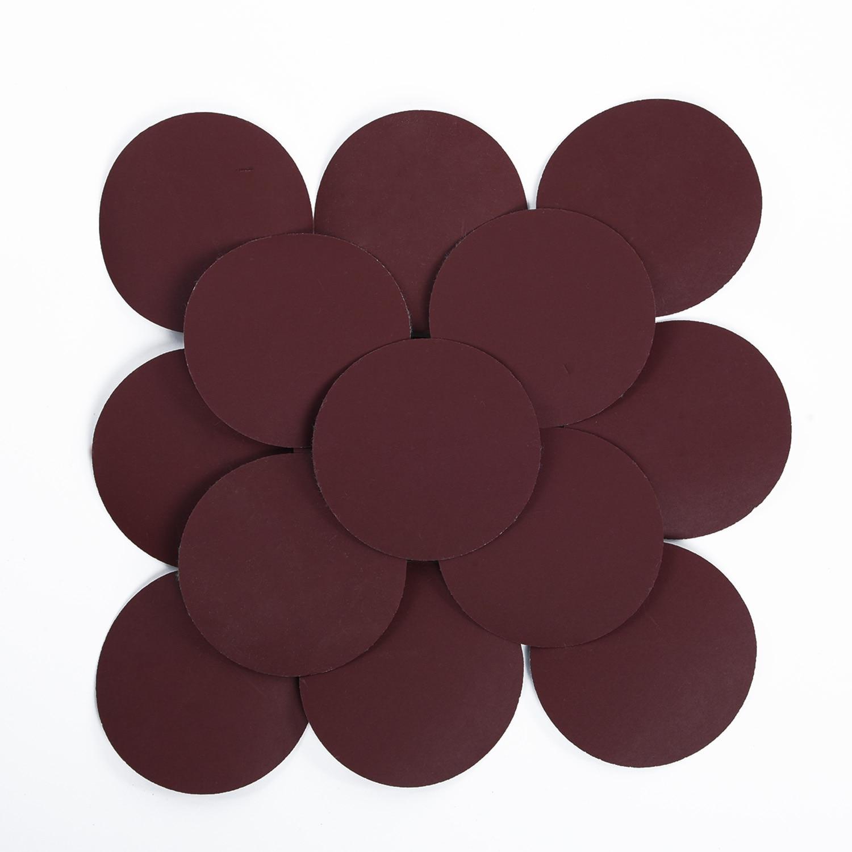 grano 40-3000 impermeable gancho y bucle Discos de lija h/úmedos y secos de 125 mm 8 agujeros papel de lija de 12,7 cm