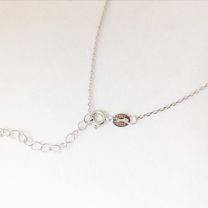 Real 925 Sterling Silver 1mm Long Curb Chain 14-32 Inches Chains