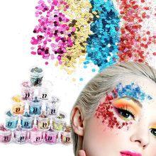 Blueness 15 Colors Hybrid Sequins Eyeshadow 10g Box Glitter Nail Face Eye  Shadow Tattoo Makeup Beauty Dazzling Dance Party d0d4b2d3d7c1