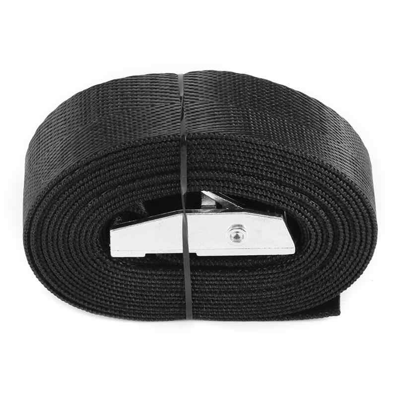 Buckle Tie-Down Belt Tie Down Straps With Metal Cam Buckle Strong Ratchet Belt Luggage Cargo Lashing Car Cargo Strap