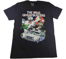 036c657a7 THE REAL GHOSTBUSTERS Tv Official Fitted Jersey T Shirt New 2018 Cotton  Short-Sleeve T-Shirt Short Sleeve Cool Casual. US  12.45   piece Free  Shipping