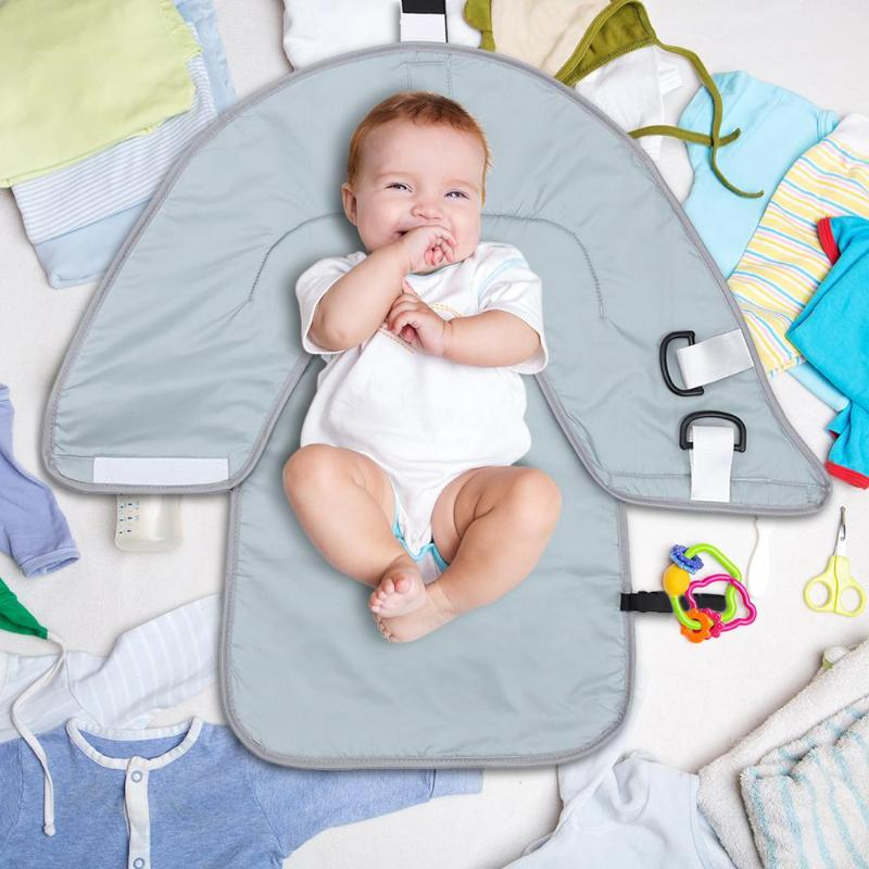 BABY TRAVEL PORTABLE CHANGING MAT FOLDING WIPE CLEAN WATERPROOF COLOURFUL NEW