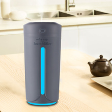 Ultrasonic Air Humidifier Essential Oil Diffuser 7 สีไฟน้ำมันหอมระเหย USB Aroma Diffuser(China)
