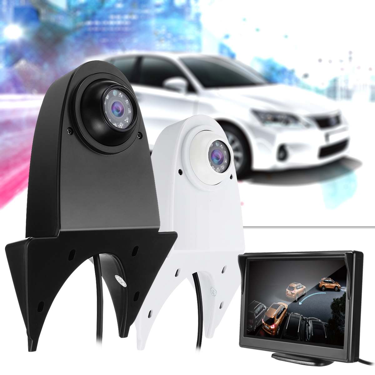 Car Backup Parking Camera Case Housing Replacement For Mercedes-Benz Sprinter VW