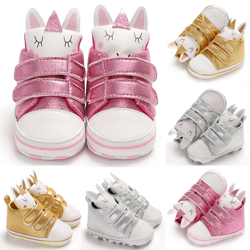 2019 Cool Toddler Baby Walking Shoes Wing Infant Baby Shoes Soft Anti-slip Shoes