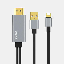 USB к HDMI конвертер для Lightning к HDMI кабель Adaptador для Apple iPhone X 8 7 6 s 5 iPad Pro Air HDMI ТВ Цифровой AV адаптер(China)