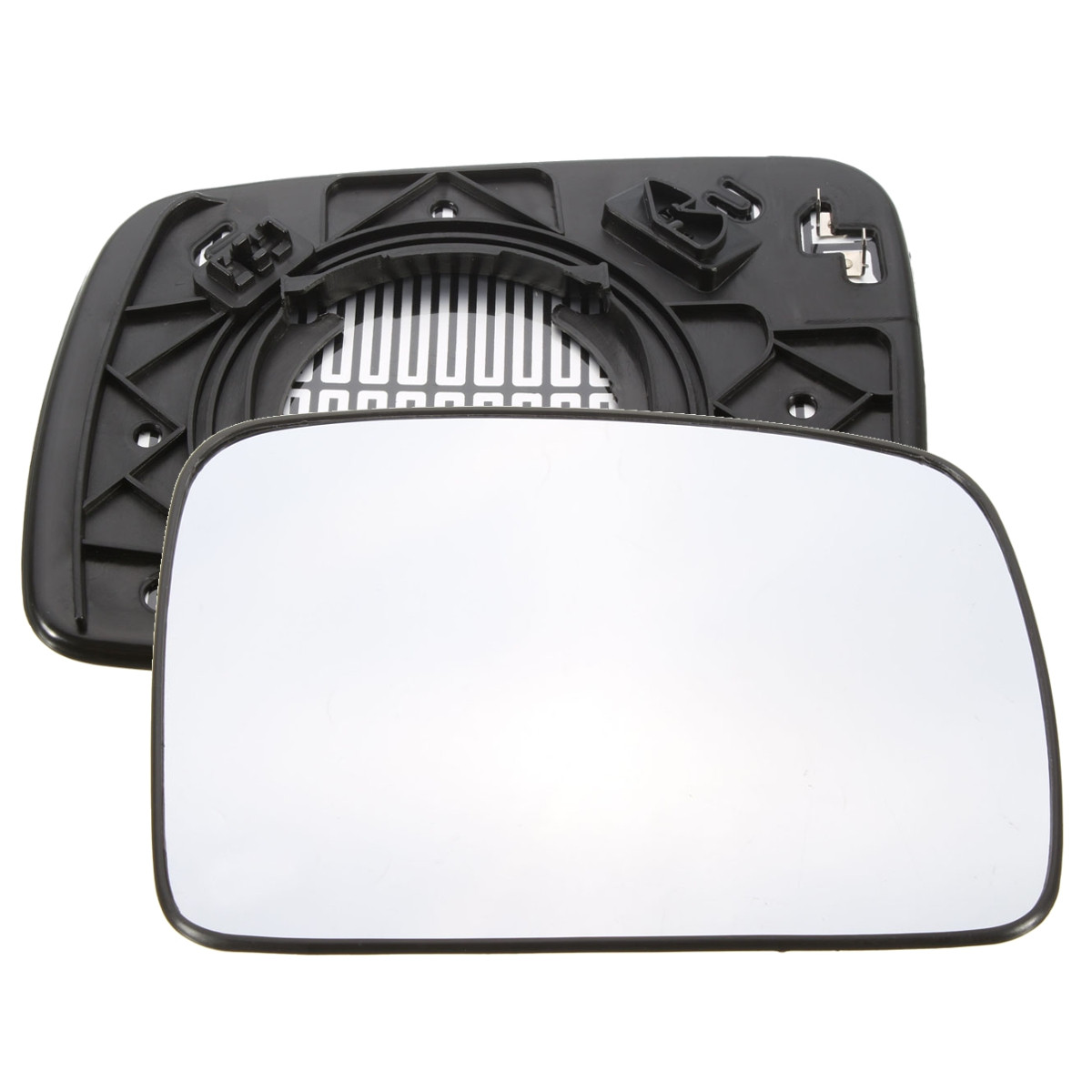 Left Side Wide Angle Wing Door Mirror Glass for Audi q7 2006-2009 Heated