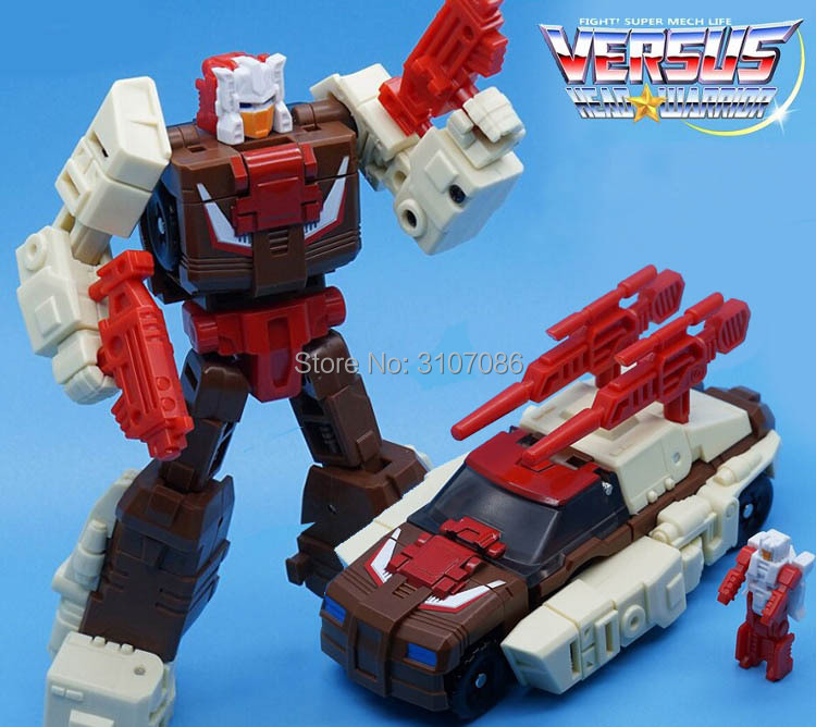 WEIJIANG Transformation IDW G1 Headmasters Brainstorm Toy Action Figure Box