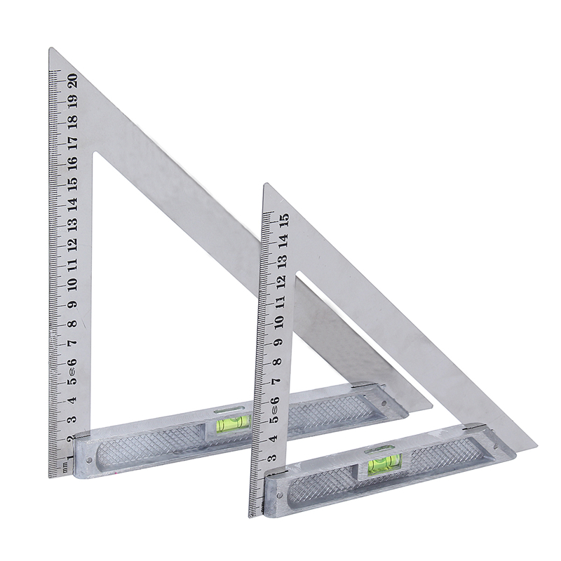 """150mm Engineers Tri Square Set Square Right Angle Straight Edge Steel Try 6/"""""""