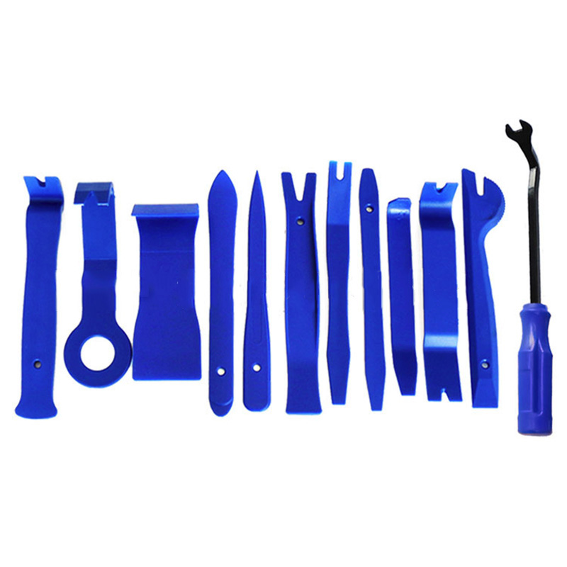 New 15Pcs Pump Wedge Open Pry Tool Kit For Car Panel Removal Dash Door Radio