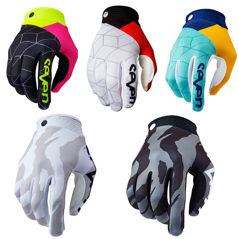 2019 Summer Outdool Cycling Gloves men Sponge Pad Long Finger Motorcycle Gloves For Bicycle Mountain Bike Glove MTB Gloves