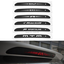 Car Styling Decorative Carbon Fiber Vinyl Sticker High Brake Light Hatch Back Decoration Decal for Volkswagen Golf MK6 Golf MK7(China)